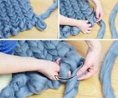 comment faire arm knitting