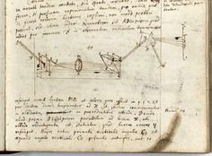 Sir Isaac Newton's note book on Optics and his discovery of white light being a mix of colours. Held in the Manuscripts Room, Cambridge University Library, England.