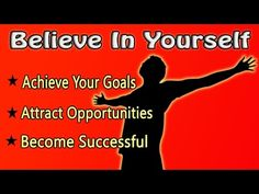 Believe In Yourself: The World Will Be Yours | Isochronic Subliminal Hypnosis - YouTube