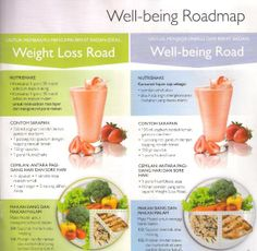 Well-being Road map by Oriflame