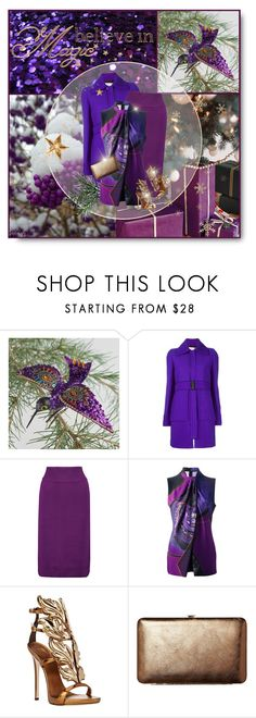 """""""Believe In Magic!"""" by pinkroseten ❤ liked on Polyvore featuring Cost Plus World Market, Victoria, Victoria Beckham, Raoul, Etro, Giuseppe Zanotti and TravelSmith"""