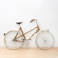 There are some great cycling initiatives around Leeds, but I've yet to see a bamboo bike on our roads.