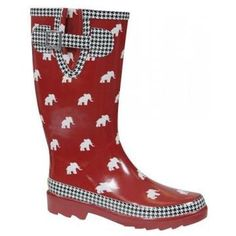 e90238089 Bama Rain boots Univ Of Alabama