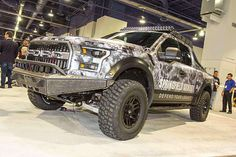 The ultimate off-road tactical vehicle built by Addictive Desert Designs in conjunction with  Gun Mount and Foutz Motorsports