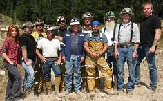 Syfy-Ghost Mine our TV show!! Larry and I own the mine.