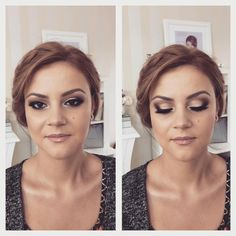 Machiaj pentru Nunta Auriu si Maro ❤️‍ Wedding Make-up Golden and Brown