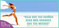 """#BodySanctuary #Motivacion #Frases #Salud #Belleza """"Deja que tus sueños sean más grandes que tus miedos""""  Tratamientos de estética corporal para damas y caballeros en... Body Sanctuary - Santa Fé -- WTC -- Satélite Tels: 01 55 2591 0403 / 01 55 9000 1570 / 01 55 1663 0375 E-mail: info@bodysanctuary.com.mx Web: http://www.bodysanctuary.com.mx/"""