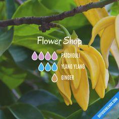 Flower Shop - Essential Oil Diffuser Blend