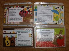 Needing new recipe ideas?? Come have some fun making new recipe cardsto try! Collect four new yummy recipes each month - only $15. Add th...