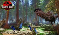 Dinozaur goni piłkarzy reprezentacji Włoch • Luis Suarez stał się Tyranozaurem Rexem • Luis Suarez jako dinozaur • Wejdź i zobacz >> #suarez #football #soccer #sports #pilkanozna #funny