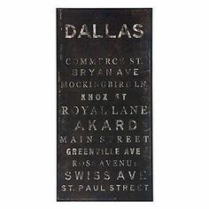 Z Gallerie - Dallas - 20x40