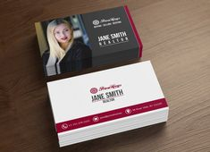 Real estate business cards template real estate business card real estate business cards realtor business card by koreev accmission Images