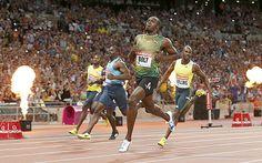 Usain Bolt, Yohan Blake and Justin Gatlin must stop avoiding each other in 2015 . | RIDDIM DON MAGAZINE