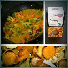 Kohlsprossen-karotten-paprika-curry #lowcarb