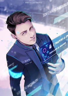 """Hello. My name is Connor. I'm the android sent by Cyberlife."""