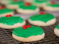 Christmas Cake Cookies recipe from Ree Drummond via Food Network