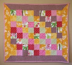 a quilt for my little gwenyth 2nd quilt i ever made