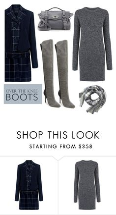 """""""Over the knee boots"""" by faten-m-h ❤ liked on Polyvore featuring Marissa Webb, Current/Elliott and Mulberry"""