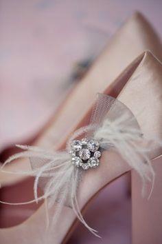 beautiful blush wedding shoes  #weddingshoes #bridalshoes #blushwedding
