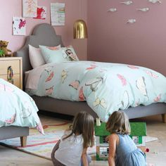 sweet little girls room
