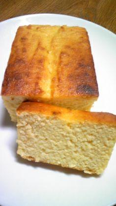 超簡単!小麦粉を使わないおからケーキ