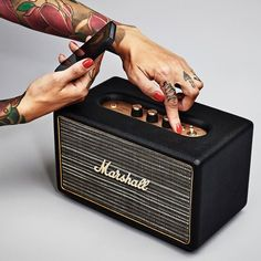 Fancy - Marshall Acton Wireless Speaker