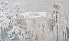 thunderstruck9:  Lennart Segerstråle (Finnish, 1892-1975), Winter Landscape, 1918. Oil on canvas, 72.5 x 119 cm.