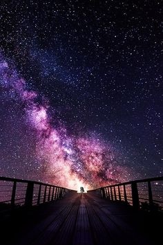 we and the universe .... The most beautiful place.....
