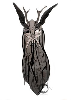 The scandinavian god Odin  inspired by the music of the norwegian band Wardruna.