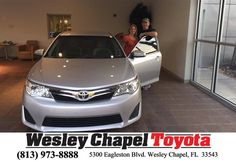 https://flic.kr/p/GPE9kw | Happy Anniversary to Daniel on your #Toyota #Camry from Richard Jackson at Wesley Chapel Toyota! | deliverymaxx.com/DealerReviews.aspx?DealerCode=NHPF