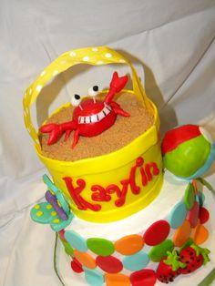 """Iloinen """"rapukakku""""! #summercake"""