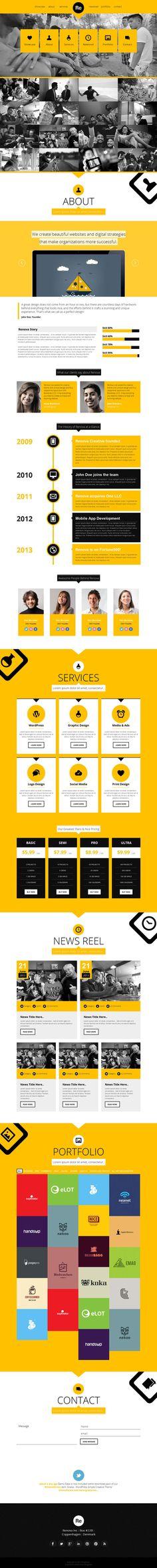 renova-one-page-responsive-portfolio - http://goo.gl/pUL3ZZ