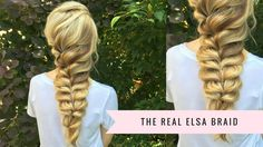 The Elsa Braid by SweetHearts Hair Design - YouTube