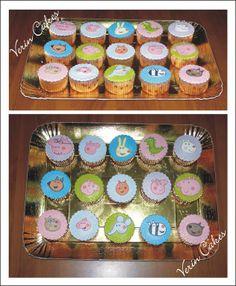 cup cakes peppa pig