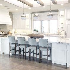 One of my favorite client kitchens to date! #moylefarm
