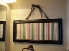 Chicken Wire Board = Hairbow Holder