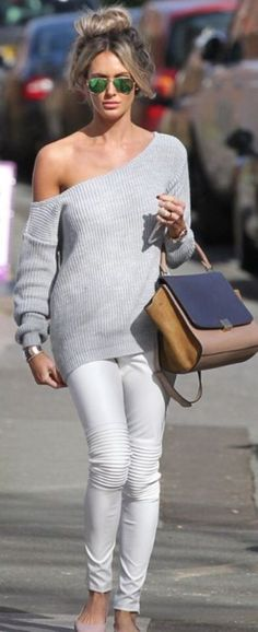 40 Perfect Outfit Ideas With White Jeans