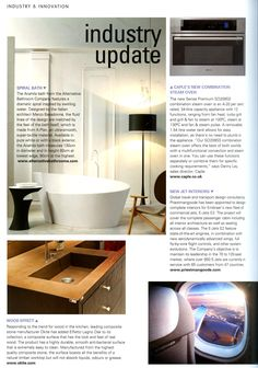 The Anahita bath from the Alternative Bathroom Company features a dramatic  spiral inspired by swirling waterAlterntive Bathroom s  Saturn  textured countertop basin with the  . Essential Kitchen And Bathroom Business Magazine. Home Design Ideas