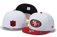 San Francisco 49ers New Era NFL 2 Tone White Team 59FIFTY Cap_4