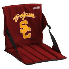 Coleman USC Trojans Cardinal Stadium Seat Cushion