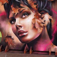 New Street Art by XAV #art #arte #mural #streetart