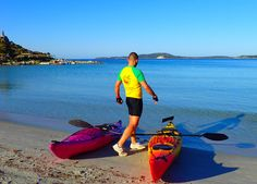 Ready for your #kayaking experience in #Sardinia? Find out more about the Active Holiday program of #LaVilladelRe #hotel