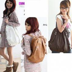 Sac à dos. Nouveau Korean Style Fashion lady 2 façons PU cuir sac à dos sac à main sac à main épaules. 5,74 €