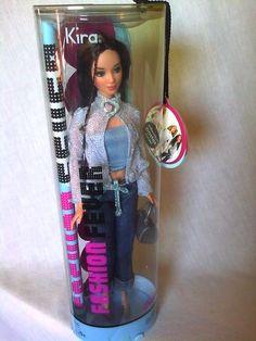 Super RARE 2004 Fashion Fever Kira Asian Barbie Doll New | eBay