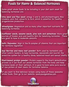 Foods for Balanced Hormones