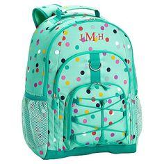 Gear-Up Mint Confetti Multi Dot Backpack #pbteen