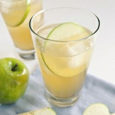 The Harvest Apple Cooler (made with apple vodka and Lillet Blanc) tastes like an apple picked fresh from the tree.