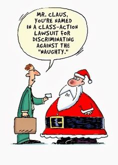 The Litigation society ... Santa gets Sued!☺