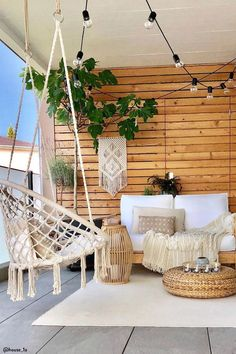 Sunroom Decorating, Decorating Ideas, Decor Ideas, Ideas Fáciles, Apartments Decorating, Decorating Bedrooms, Balkon Design, Style At Home, Home Fashion