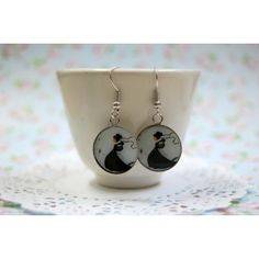 Illustration earrings ! The little butterfly image by seven keys designs
